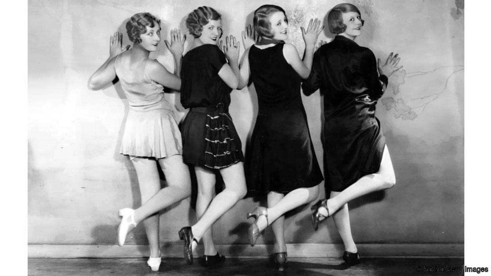 Модный танцы в 1920 годах